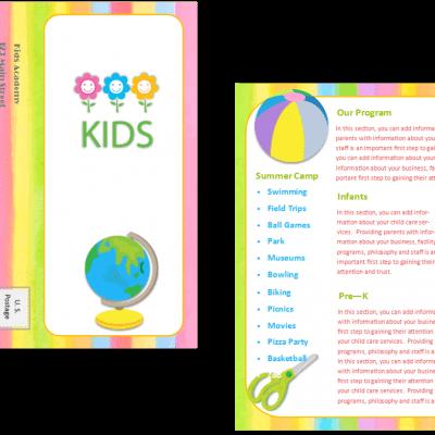 child care brochures child care owner. Black Bedroom Furniture Sets. Home Design Ideas