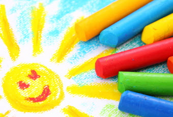 crayon drawing small