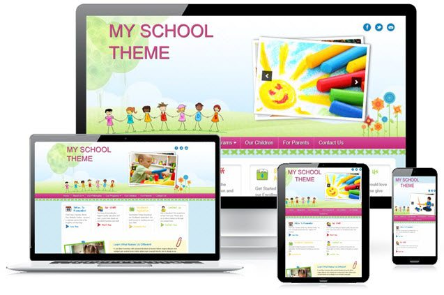 Myschool slider image