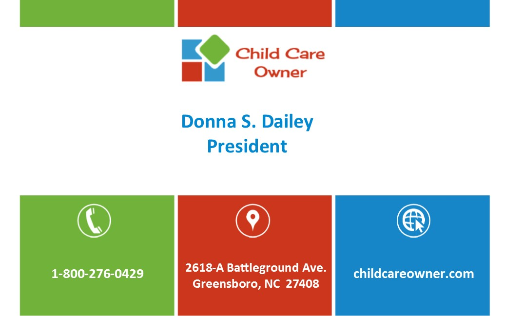 Cco Business Card 2016 Front Child Care Owner