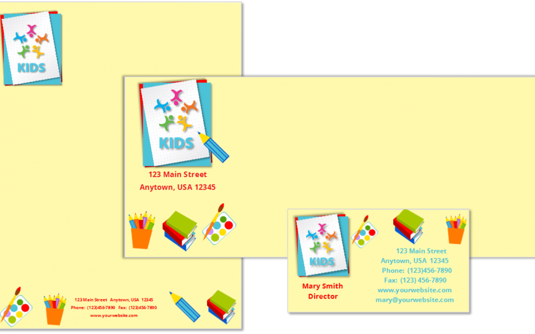 CCO Child Care Stationery Combined  20 Template