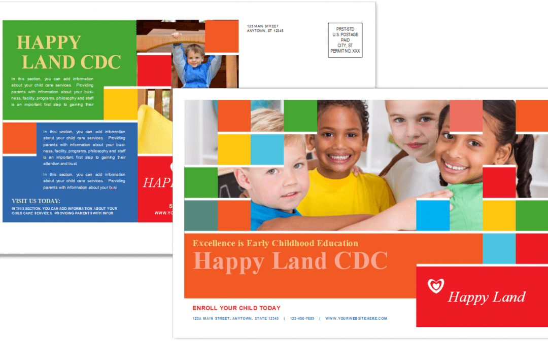 CCO Postcard Template 6 Sample 1 Front and Back