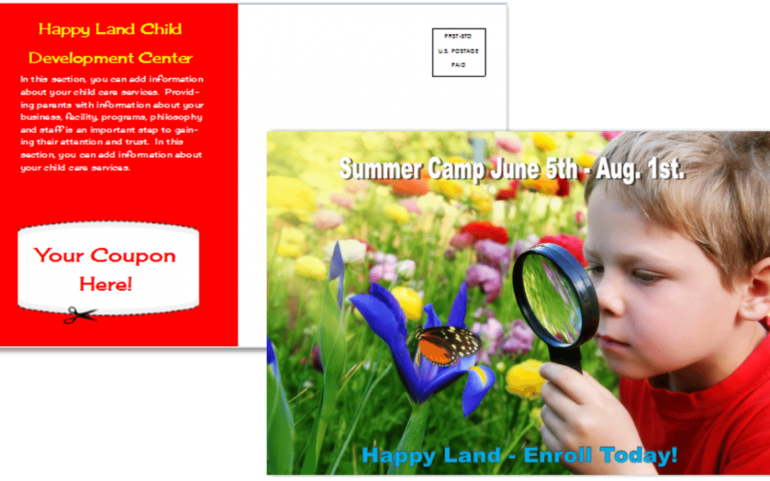 CCO Template 11 Summer Camp Front and Back
