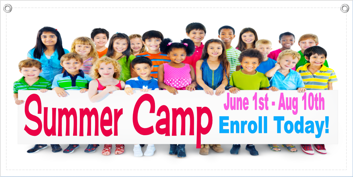 Summer Camp Banner Template 4