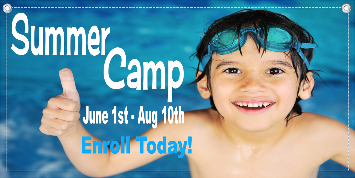 Summer Camp Banner Template 5