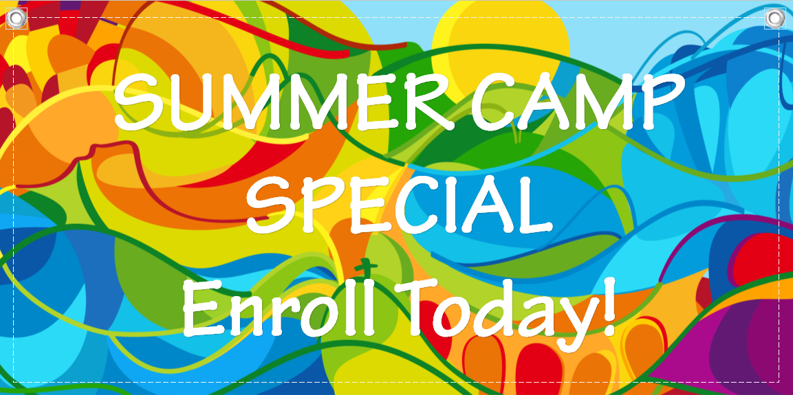 summer camp banner template 8 child care owner