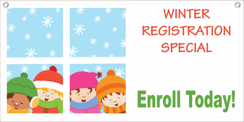 Winter Special Banner Template 5 Child Care Owner