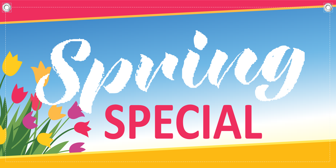Spring Special Banner Template 3 Child Care Owner